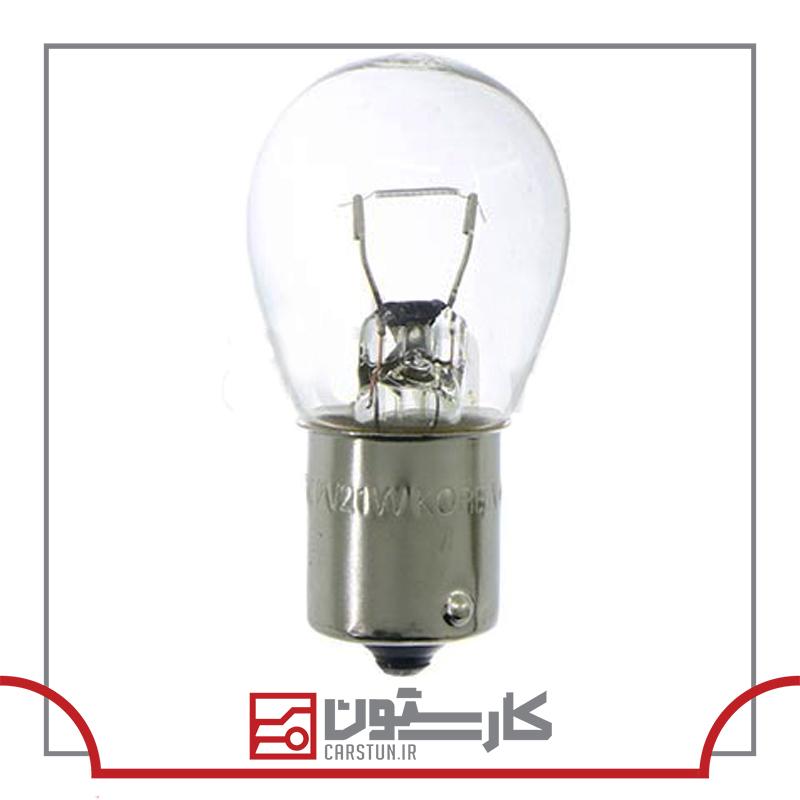 پيکان - لامپ چراغ خطر يک کنتاک فران تک